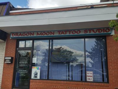 dcc1e0a956b15 Dragon Moon Tattoo Studio Inc, 208 Crain Highway, Glen Burnie ...